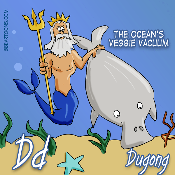 D-is-for-Dugong-Animal-Alphabets-Bearman-Cartoons