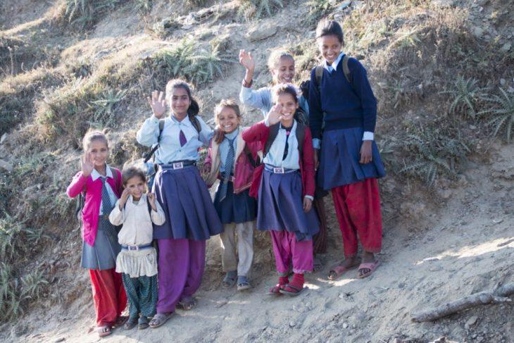 Nepal és així. Posem un somriure a les nostres cares i continuem ...