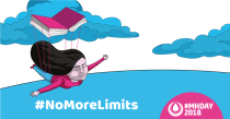 #NoMoreLimits Education about menstruation empowers girls