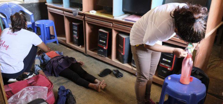 La noia que no podia ser tocada per una noia menstruant