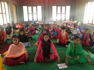 Meditation helps in Sanphebagar
