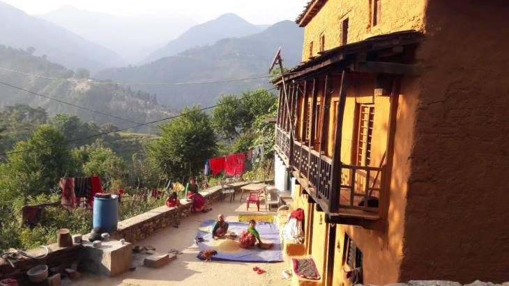 A landscape. Achham, Nepal