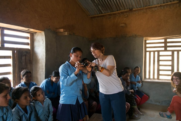 february 2017-Manisha in photography class