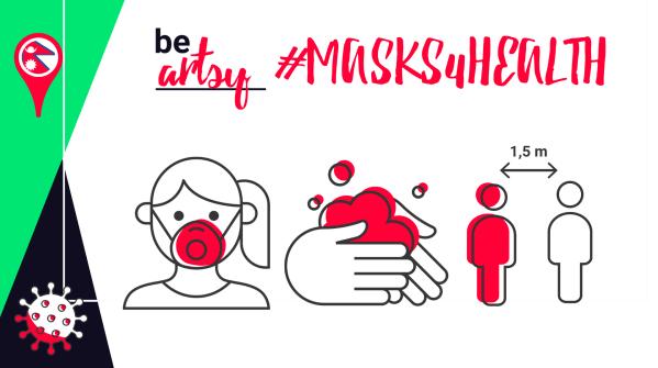Ens ajudes a aconseguir el Matchfunding #T2M amb #Masks4Health?