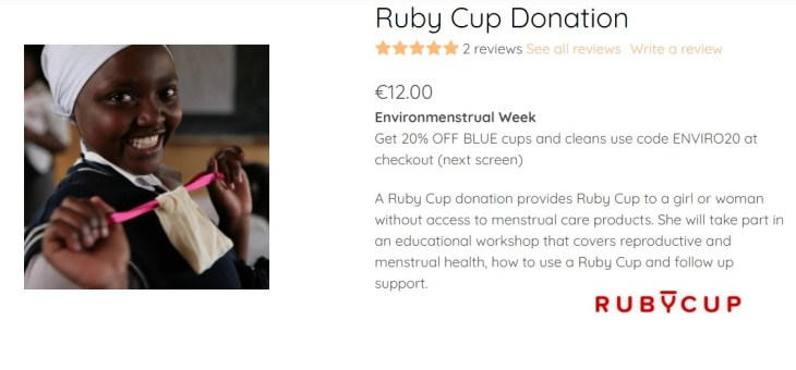 Ruby Cup: Thanks for helping us help others