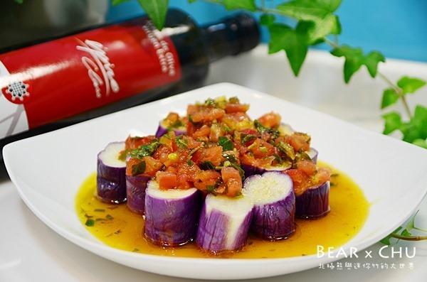 Sauce Vierge拌紫茄溫沙拉
