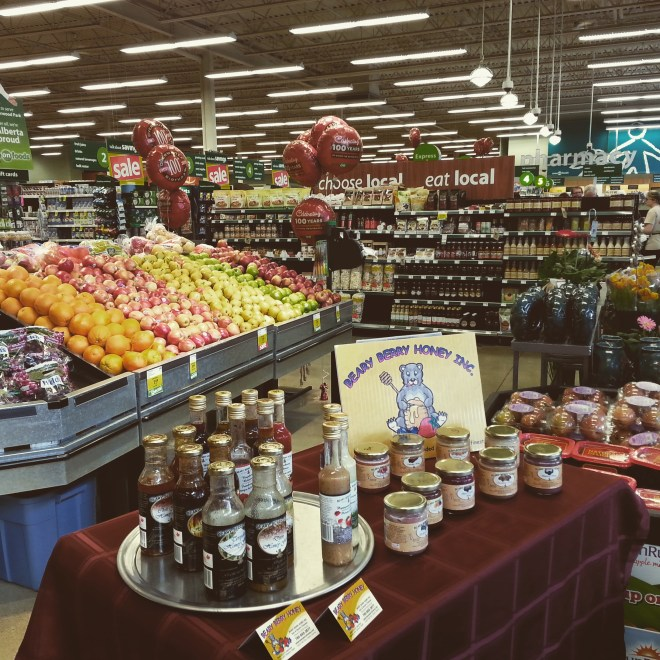 Beary Berry Honey Demo Tasting at Save On Foods