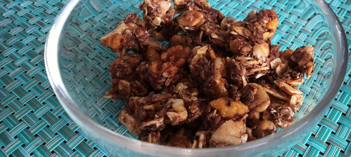Honey Roasted Walnut Clusters