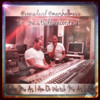 Craig David And Producer Anthony Marshall Are Back In The Studio!