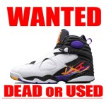 AIRJORDAN8 RETRO THREE TIME'S A CHARM 買取情報