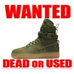 Special Field Air Force 1  Faded Olive Nike 買取情報