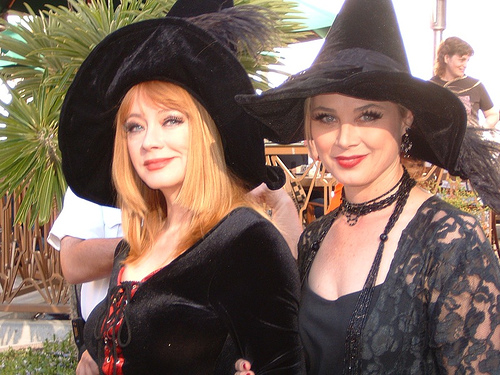 Andrea Evans (Rebecca) & Kim Johnson Ulrich (Ivy) @ PASSIONS event!