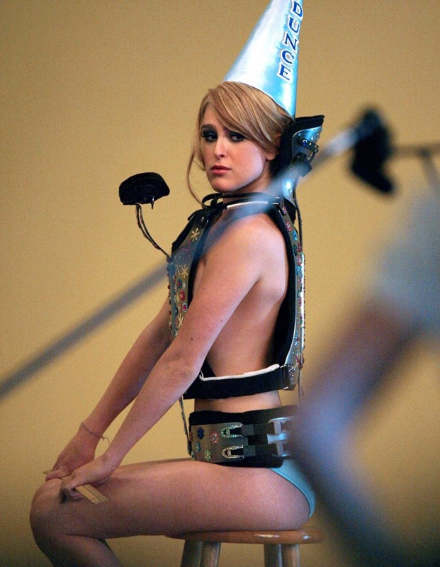 """Miss Golden Globes 2008″ Rumer Willis in a scene from an upcoming film!"