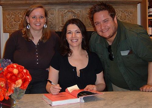 Me & Christine with Nigella! (Nov. 10, 2007)