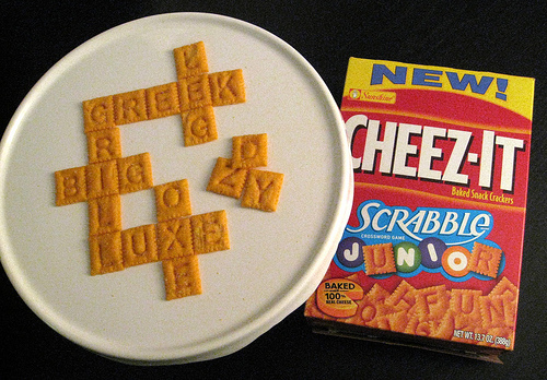 Scrabble Junior CHEEZ-ITS #2