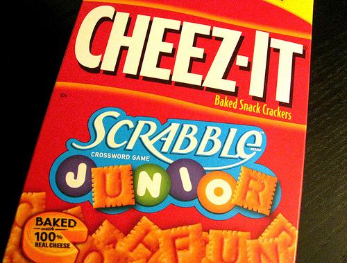 Scrabble Junior CHEEZ-ITS #3