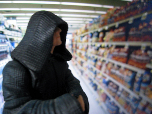 Emperor Palpatine shopping at Vons #2
