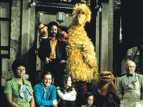 """Sesame Street"" 1969 cast!"
