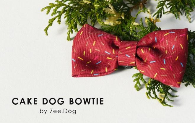 Zee.dog - Cake bowtie /ジー・ドッグのボウタイ