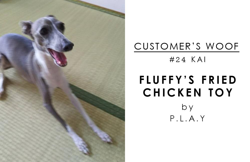 お客さまの声#24 Fried Chicken with Kai the Italian greyhound / BEAST COAST