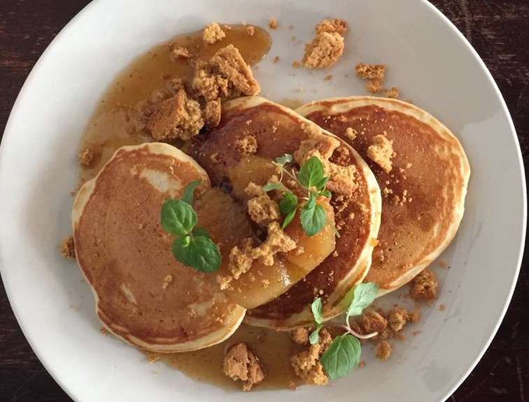 apple and ginger pancakes - Ask For Janice