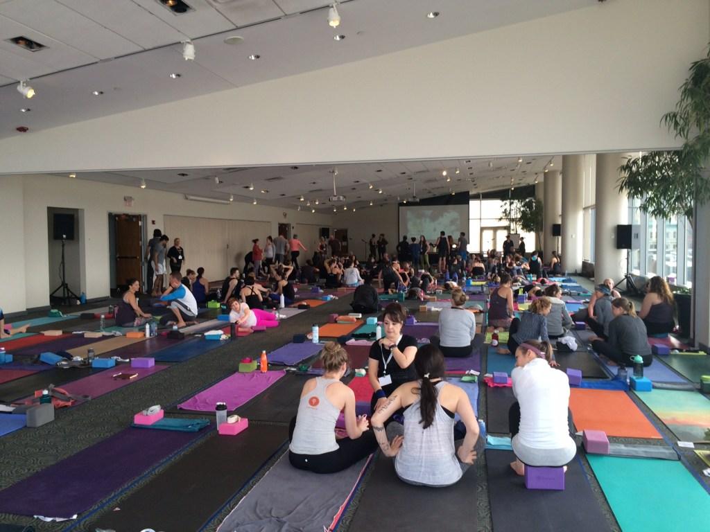 250+ yogis!