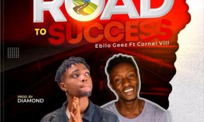 """Ebilo Geez - """"Road To Success"""" Feat. Cornel Vii (prod. Diamhorn) 2"""