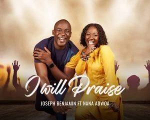 Top Nollywood actor Benjamin Joseph, Us-based singer Nana Adwoa to release new song (I will praise) 44