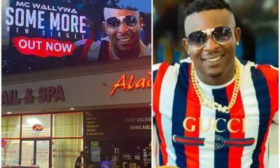 Nigerian US-based singer MC Wallywa's song debuts on New Jersey Billboard 3