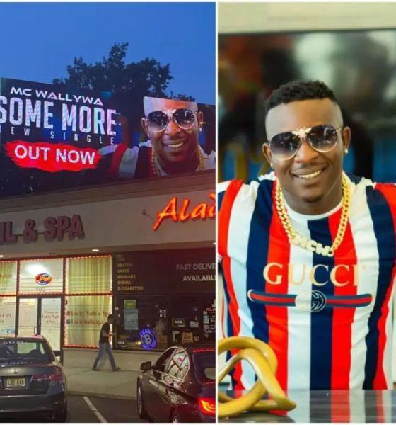 Nigerian US-based singer MC Wallywa's song debuts on New Jersey Billboard 42
