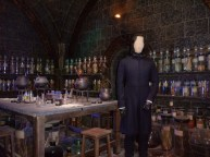 Defense Against the Dark Arts classroom