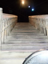 The staircase built for the Hogwarts stairs illusions