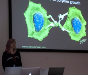 An Unconventional Take on Scientific Presentations
