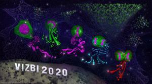 Artwork for VIZBI – a conference on Visualizing Biological Data