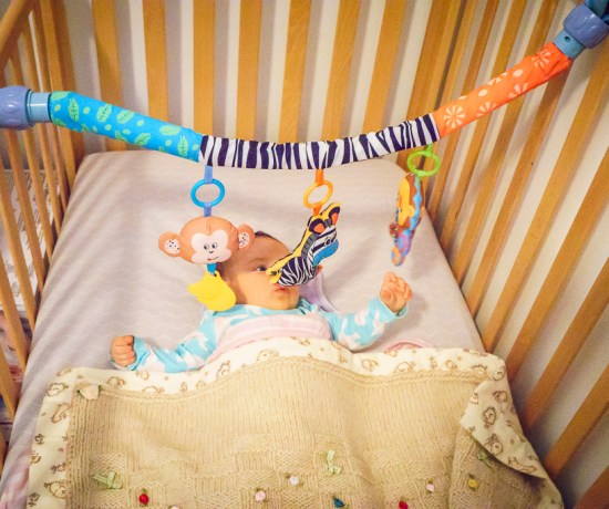 Baby toy activity bar