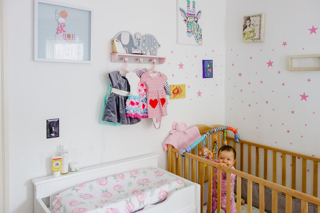 Lily's baby nursery bedroom