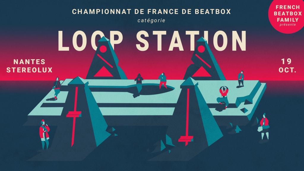 Championnat de France de Beatbox Loopstation 2019 Nantes Stereolux