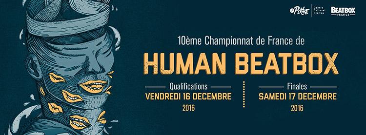 10ème championnat de France de Human Beatbox - Couverture 2016