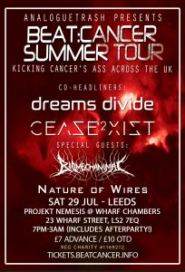 Beat:Cancer Summer Tour - Leeds, Sat 29 July at Wharf Chambers
