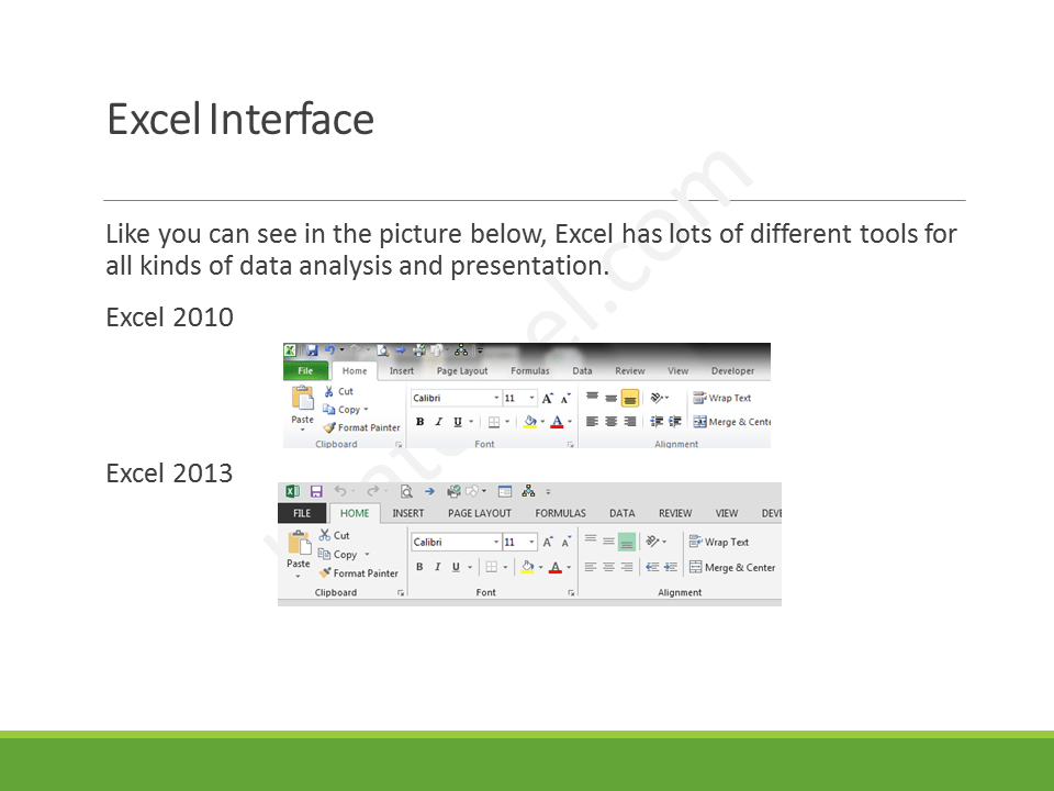 Excel Crash Course - Slide5