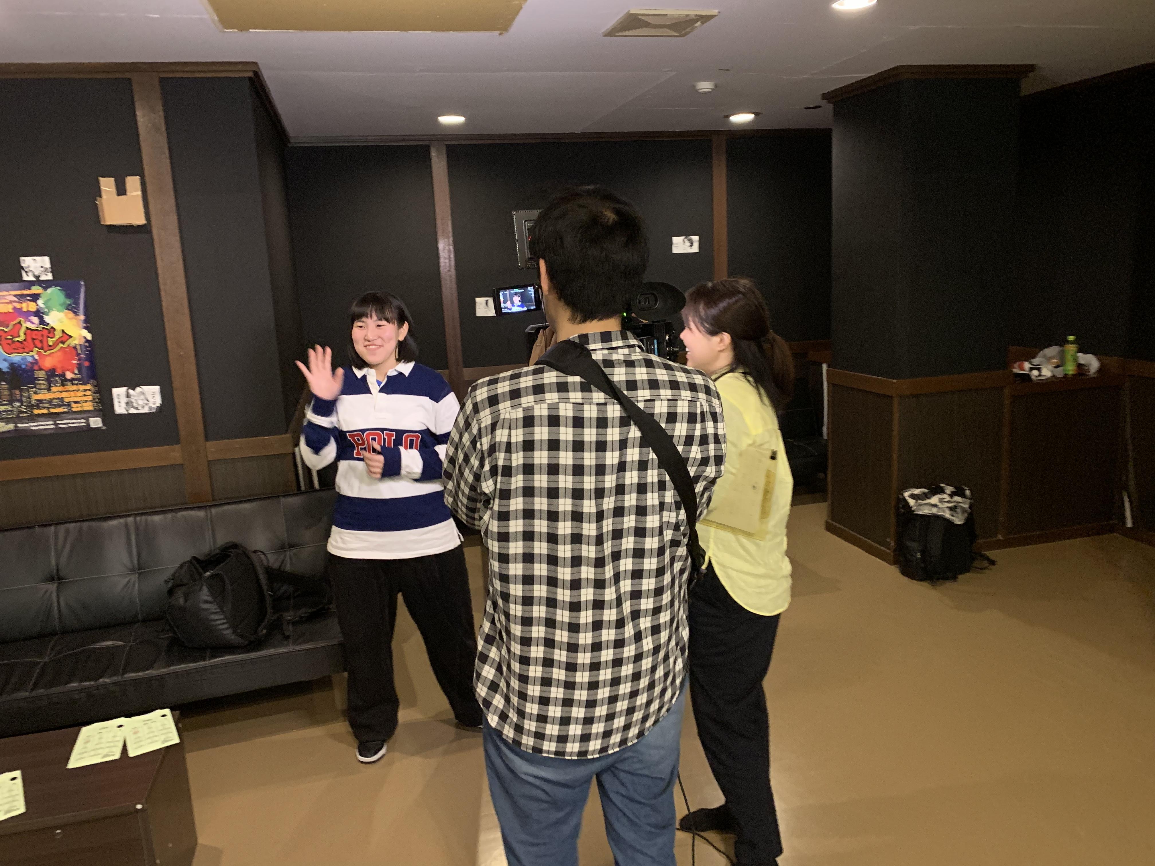 BEAT FACTORY米沢インタビューの様子2