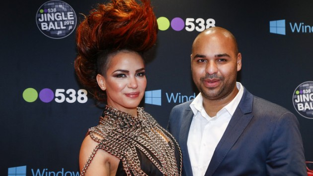 Casais DJs Sidney Samson e Eva Simons