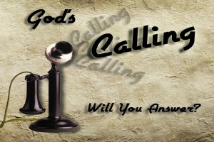 Jesus and God's Holy Spirit CALLING
