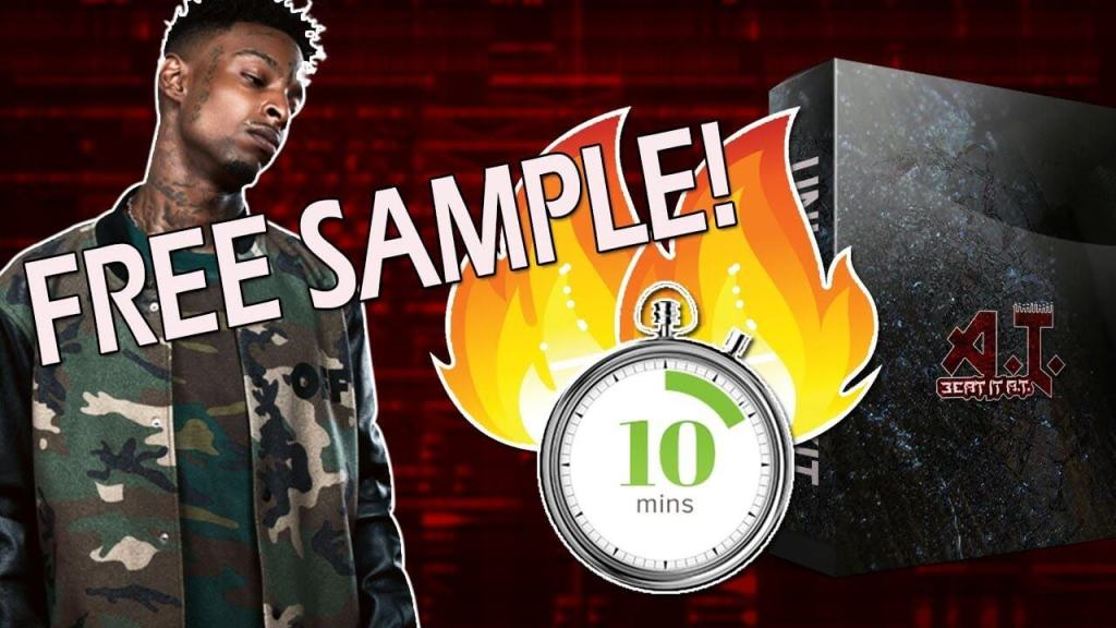 Using A Free Sample To Make A Beat For 21 Savage