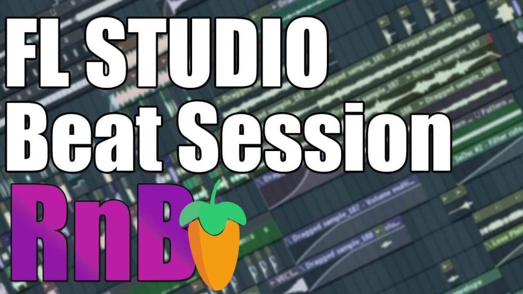 Chill RnB Style Beat Session In FL Studio