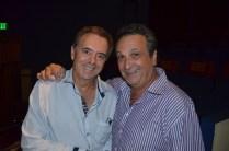 With Tony Sinatra