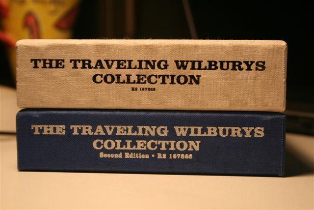 Traveling Wilburys 1st and 2nd Editions