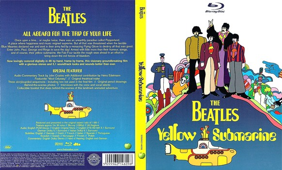 Dvd The Beatles Yellow Submarine Dvd Bluray