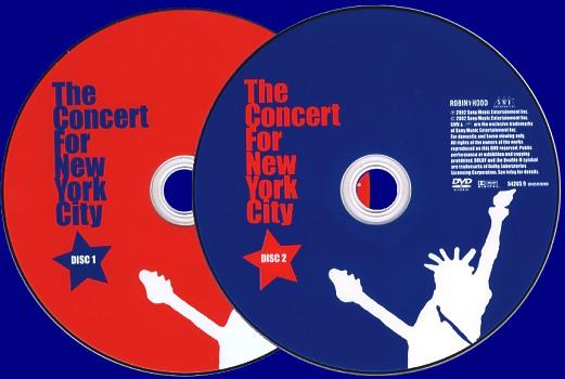 Laser Disc Dvd Paul Mccartney The Concert For New York