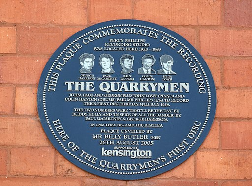 The Quarrymen: That'll Be The Day/In Spite Of All The Danger